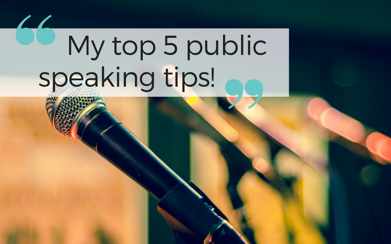 Hate public speaking? Check out these top tips!