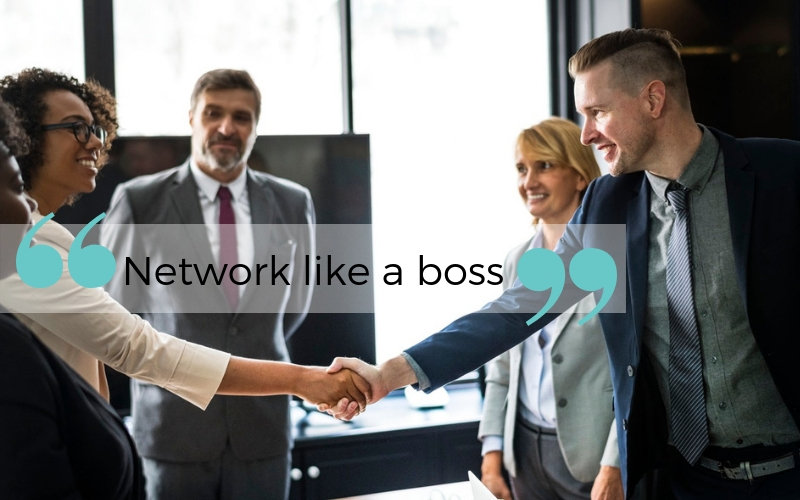 Network like a boss