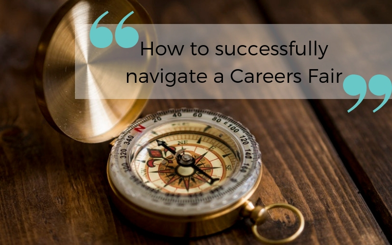 How to successfully navigate a Careers Fair