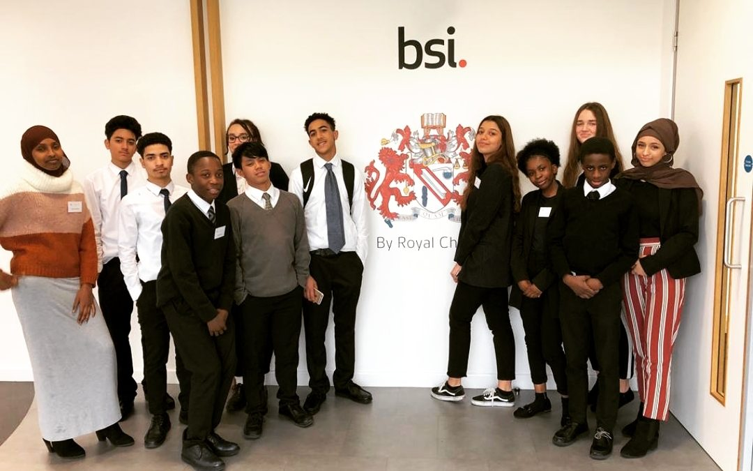 Raising career aspirations for students from Westminister Academy